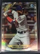 Amed Rosario 2018 Bowman Baseball Roy Favorites Rc Mets - $0.98