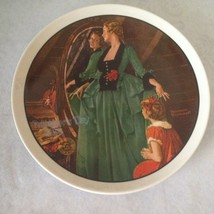 """Norman Rockwell Plate """"Grandma's Courting Dress""""#10552G- Mother's Day 1984 - $13.61"""