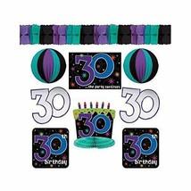 30th Birthday Celebration Decorating Kit - $15.19