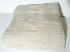 Hotel Collection Pleated Stripe Cream Full/Queen Duvet T410764 - $71.47