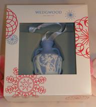 New Wedgwood Blue & White Jaspeware Portland Vase Christmas Blue Tree Or... - $36.99