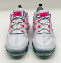 NEW Nike Air Vapormax 2019 Grey Pink Teal White AR6632-007 Women's Size 9 - $168.29