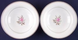 Lot of 2 Noritake Roanne Pink Rose Fruit Dessert Bowls 5794 Japan Vintage - $9.99