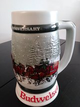 Budweiser 1933-1983  Clydesdales - 50th Anniversary Stein Made in Brazil by Cera image 2