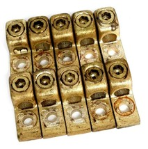 LOT OF 10 BURNDY N400-500 COPPER LUG CONNECTORS N400500