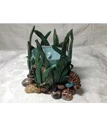 Sculpture Decorative Handmade Polymer Clay Ocean Sea Fish Multicolored B... - $85.00