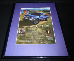 2010 Toyota Tacoma 4x4 Framed 11x14 ORIGINAL Advertisement - $34.64