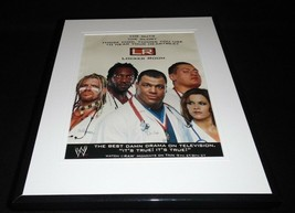2002 WWE Raw Framed 11x14 ORIGINAL Vintage Advertisement Kurt Angle - $22.55