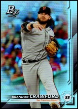2019 Bowman Platinum #41 Brandon Crawford NM-MT San Francisco Giants - $0.99
