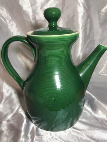 Red Wing Pottery Pitcher Ernest So Er Mold Stoneware Green 12