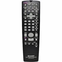 Sharp RRMCG1236AJSB Factory Original Vcr Remote VCA410, VCA420U, VCA820U - $15.59