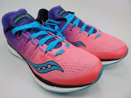 Saucony Freedom Iso Damen Laufschuhe Größe Us 8 M (B) Eu 39 Pink S10355-8