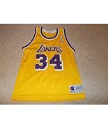 VTG-2000s Los Angeles Lakers Shaquille O'Neal Champion Jugendliche Meidium - $55.96