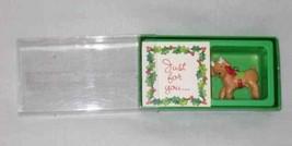 """NEAT 1 1/4"""" American Greetings REINDEER Ornament - $13.01"""