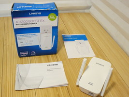 LinkSys RE6400 AC1200 Dual-Band Boost EX Wi-Fi Range Extender - $42.06