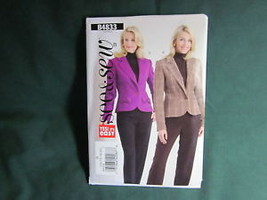 BUTTERICK MISSES JACKET BLAZER SEWING PATTERN SIZE 6 TO 12 - $5.75