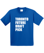 Toronto Future Draft Pick Hockey  Kids Blue T Shirt - $21.99