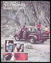1978 Ford Truck Accessory Brochure, Bronco Ranchero Club RV Pickup, Orig... - $8.59