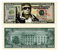 Pack of 50 - Donald Trump 2024 The Terminator Presidential Novelty Dolla... - $14.84