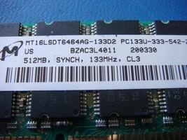 MT16LSDT6464AG-133D2 512MB SDRAM PC133 CL3 DESKTOP RAM LOW DENSITY NON-ECC