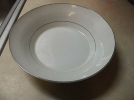 Mikasa  White Designs round serving bowl 1 available - $17.08