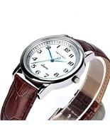 Men's Watches Anticlockwise Fashion Waterproof Quartz Wrist Watch Leathe... - $32.85