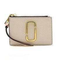 NWT MARC BY MARC JACOBS Mini Compact Wallet Leather Card Case Dusty M001... - $87.12