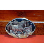 Pre-Owned Arroyo Grande Buckle Co Unicorn Belt Buckle - $25.74