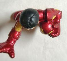 Marvel Super Hero Squad Iron Man Holding Helmet 2008 image 3