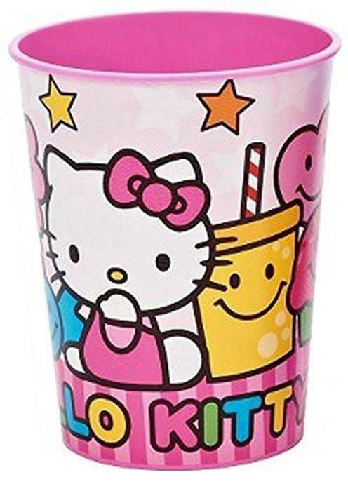 Hello Kitty Sweets and Candy Stadium Keepsake 16 Oz Plastic Cup 1 Per Package