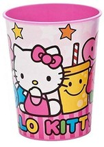 Hello Kitty Sweets and Candy Stadium Keepsake 16 Oz Plastic Cup 1 Per Pa... - $1.93