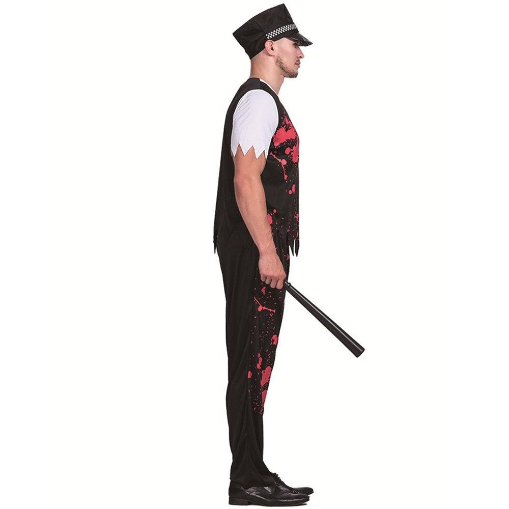 2019 Halloween Horror Death Interpol Cosplay Men'S Costume Stage Performance