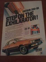 Vintage 1981 Datsun Southern Living Magazine Ad - $9.95