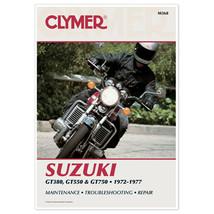 Clymer M368 Manual for Suzuki 380-750CC Triples 72-77 - $65.38