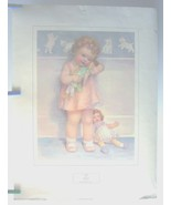 "~~~""LOVE IS BLIND"" ~ Offset Lithograph Print ~ Bessie Pease Gutmann ~ 24... - $11.28"