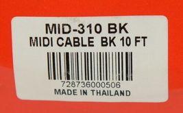 Hosa Technology MID310BK MIDI Cable 5 Pin DIN To Same Ten Feet Long image 3