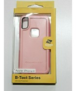 Boost Mobile Phone Case B-Tact Series for an Apple iPhone X (Pink) - $8.99
