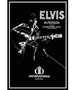 Elvis Presley 24 x 36 Reproduction Poster - The International Hotel Las ... - $50.00
