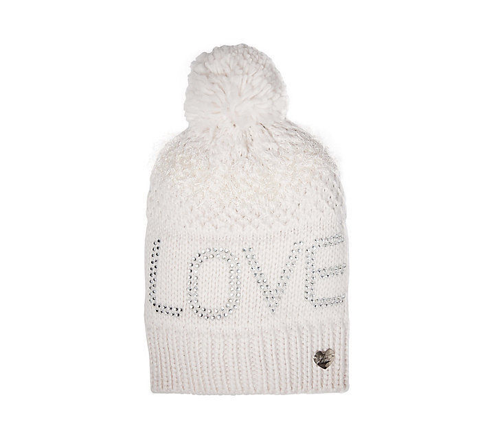 ac248634c19d28 Betsey Johnson Ivy Love Pom-Pom Beanie Knit and 50 similar items. S l1600
