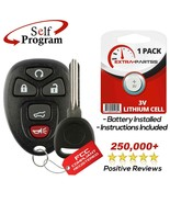 New Replacement Keyless Entry Remote Car Fob Alarm for 15913415 w/ Chip ... - $12.84