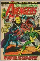Avengers #102 ORIGINAL Vintage 1972 Marvel Comics Grim Reaper - $39.59