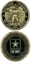 ARMY WOUNDED WARRIOR NO ONE LEFT BEHIND CHALLENGE COIN - $16.24