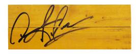 Dennis Rodman Signed  8x3 Basketball Court Floor Piece - £80.22 GBP