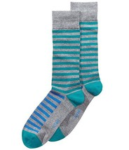 Alfani Men's Striped Socks (Tealblue, ONE SIZE) - $7.45
