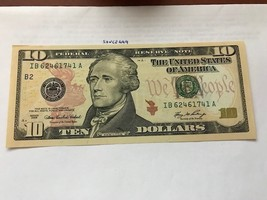United States  $10.00 banknote uncirculated Year 2006 - $24.95