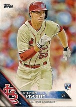 2016 Topps Stephen Piscotty #146 Rookie RC St. Louis Cardinals - $2.00