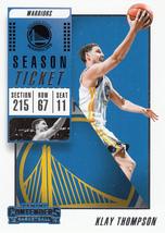 Klay Thompson 2018-19 Panini Contenders Card #96 - $0.99