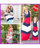New Family Matching Outfits Mother Daughter Dress Girls Kids Mom Fashion... - $15.00+