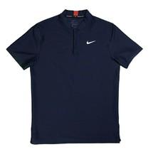 Nike Tiger Woods Collection Premium Golf Polo Deep Navy Blue Medium  - $56.99