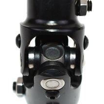 "Forged Steel Yokes Steering Shaft Universal U-JOINT 1"" DD TO 3/4"" DD Black image 7"